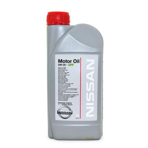 NISSAN Motor Oil 5W30 1 л. KE90099933R