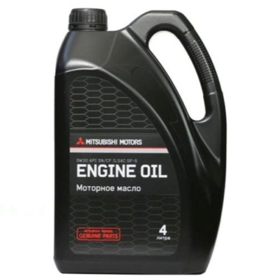 MITSUBISHI Engine Oil 5W-30 4 л. MZ320757