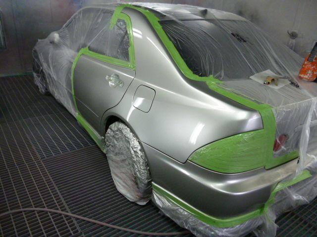 Частичная покраска автомобиля